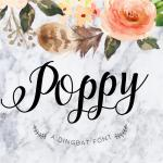 Poppy Script Font Free