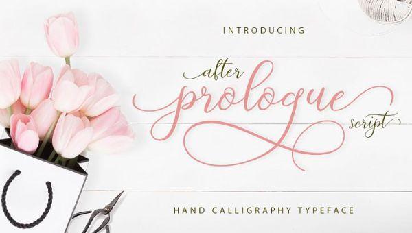 Prologue Script Lite Font Free