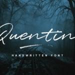 Quentin Script Font Free