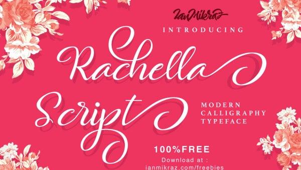 Rachella Script Font Free