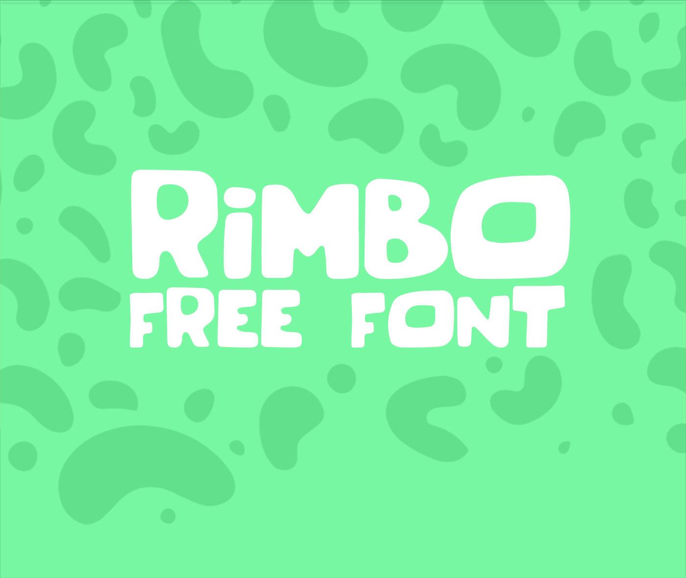 RIMBO Font Free - Dafont Free