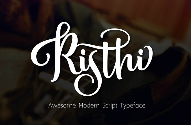 Risthi Script Font Free