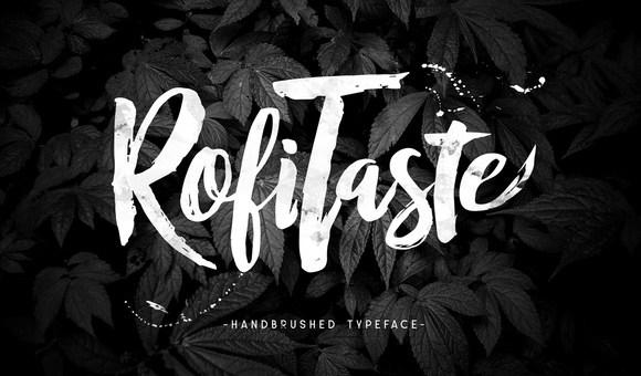 RofiTaste Typeface Free