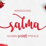 Salma Script Font Free