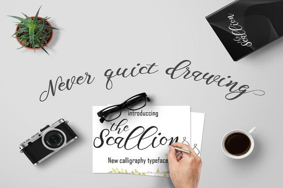 scallion-script-font-1