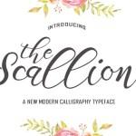 Scallion Script Font Free