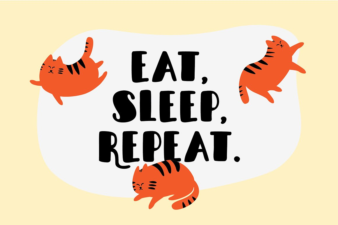 sleepy-fat-cat-typeface-4