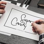 Sugar Candy Signature Font Free