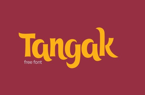 Tangak Font Free