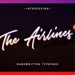 The Airlines Script Font Free
