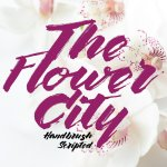 The Flower City Script Font Free