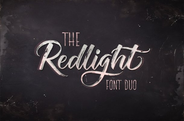 The Redlight Font Free