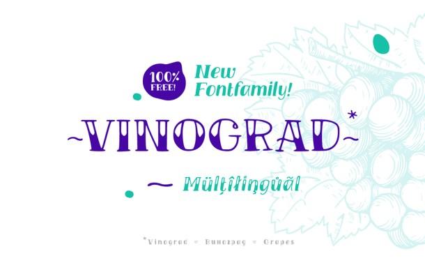 TM Vinograd Font Free