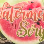 Watermelon Script Font Free