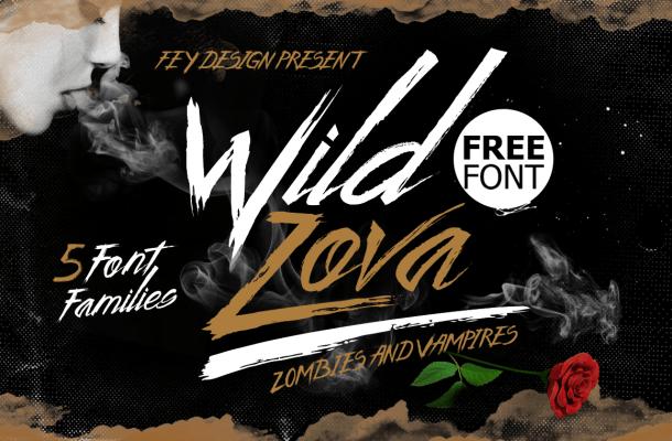 Wild Zova Font Free