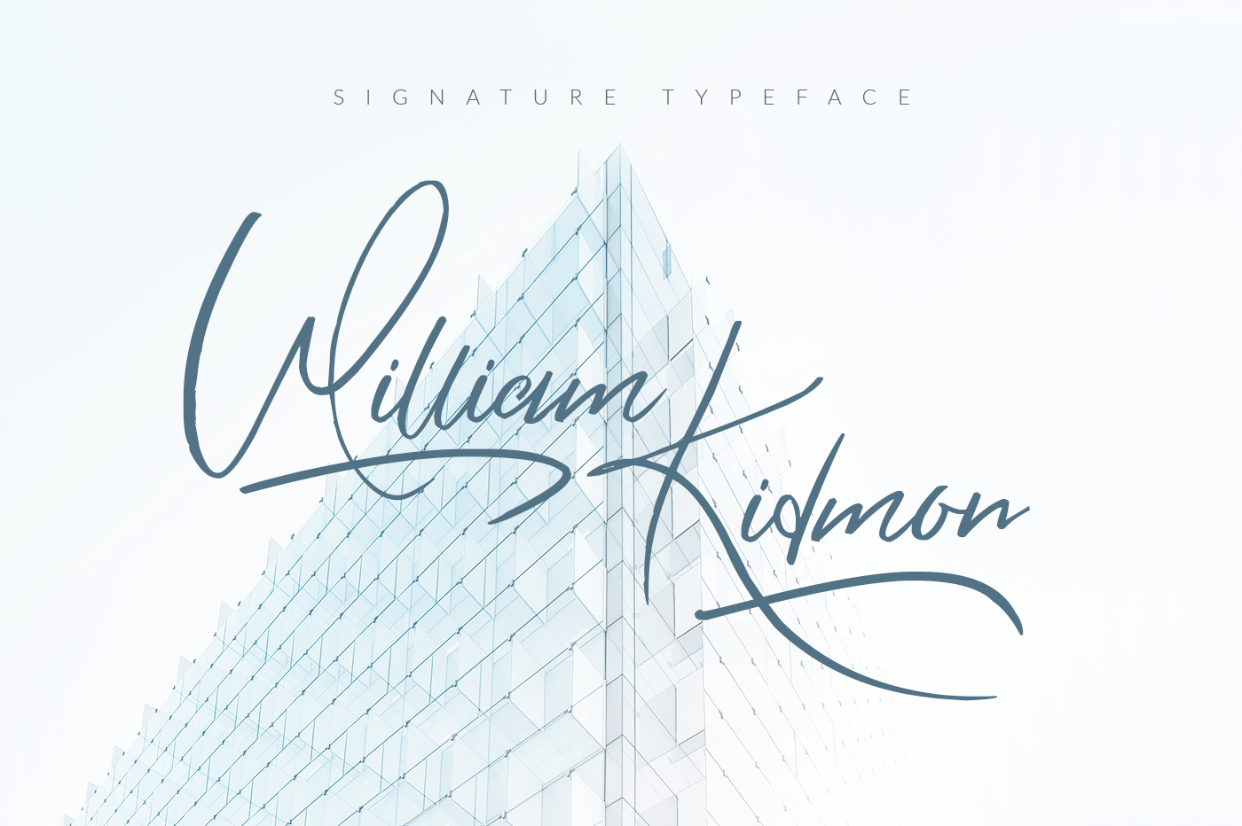 william-kidmon-free-font