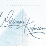 William Kidmon Script Font Free