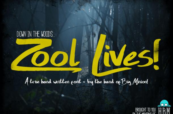 Zool Lives Script Font Free