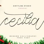 Cecilia Script Font Free