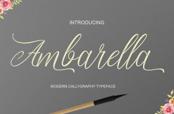Ambarella Font Free