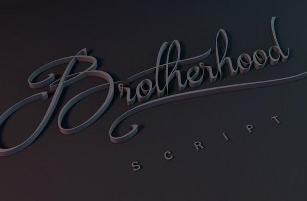 Brotherhood Script Font Free