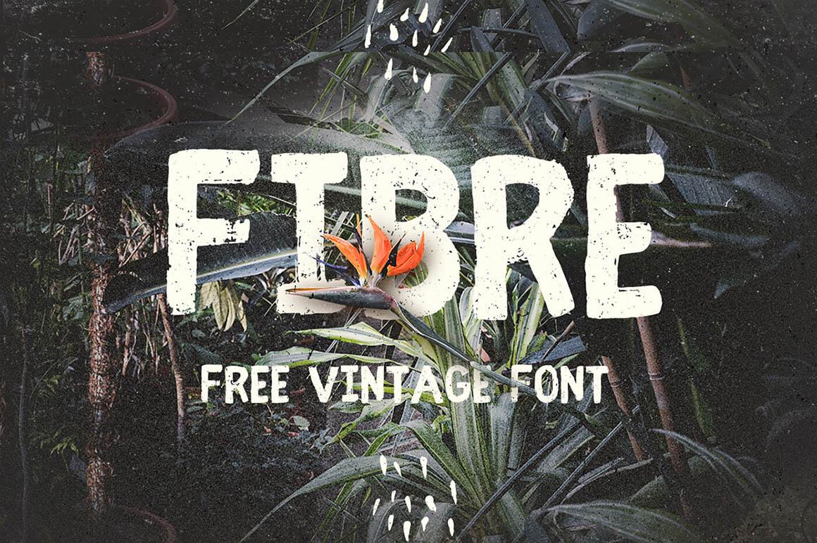 fibre-free-vintage-font