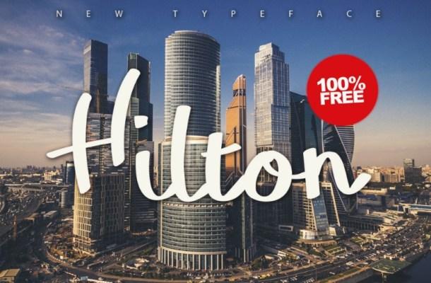 Hilton Typeface Free