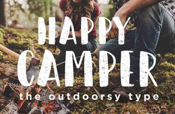 Happy Camper Font Free