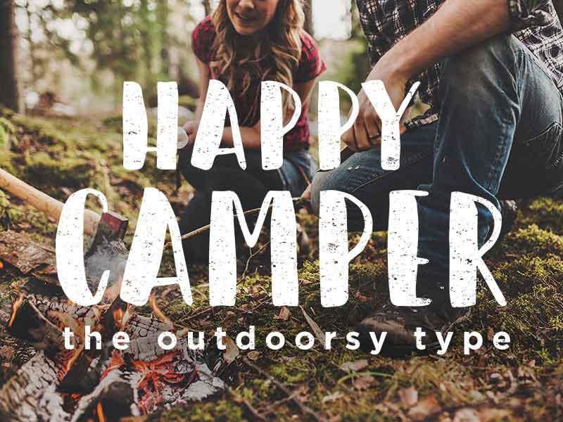 happy-camper-free-font