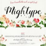 Mightype Script Font Free