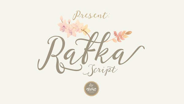Rafka Script Font Free
