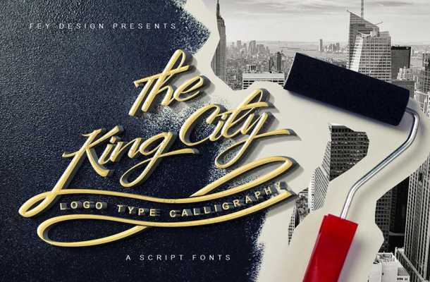 The King City Font Free