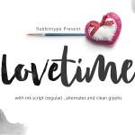 Lovetime Script Font Free