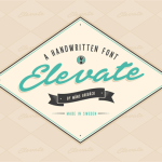 Elevate Font Free