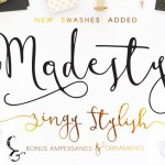 Modesty Font Free