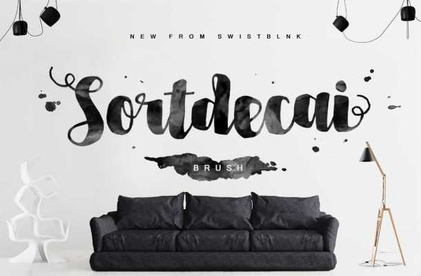 Sortdecai Brush Script Font Free