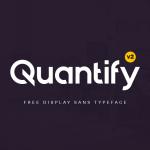 Quantify Font Free Download