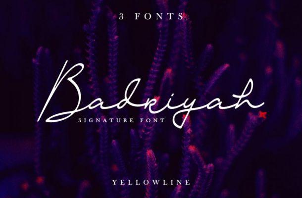 Badriyah Font Free Download