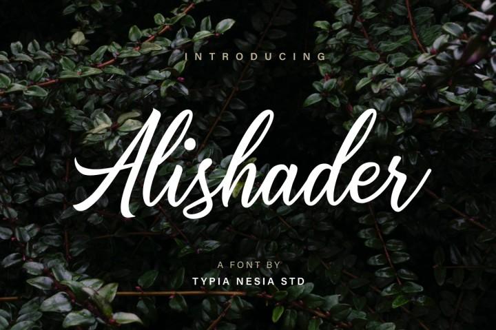 alishader-script-font