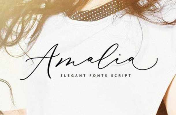 Amalia Script Font Free