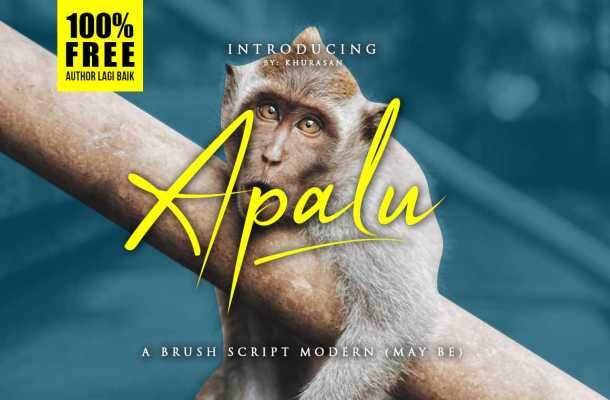 Apalu Script Font Free