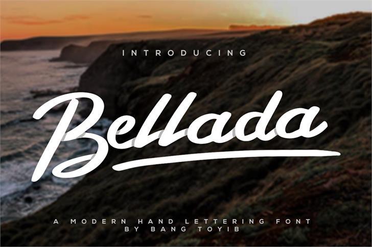 bellada-script-font