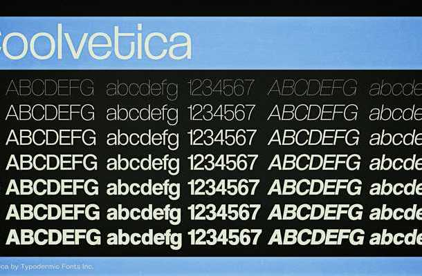 Coolvetica Font Free Download