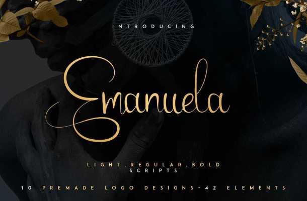 Emanuela Script Font Free