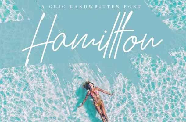 Hamillton Signature Font Free Download