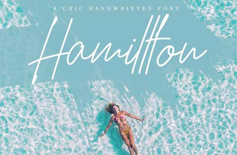 hamillton-signature-font