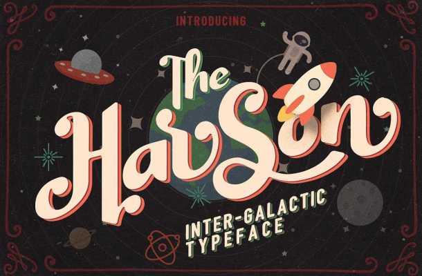 Harson Typeface Free
