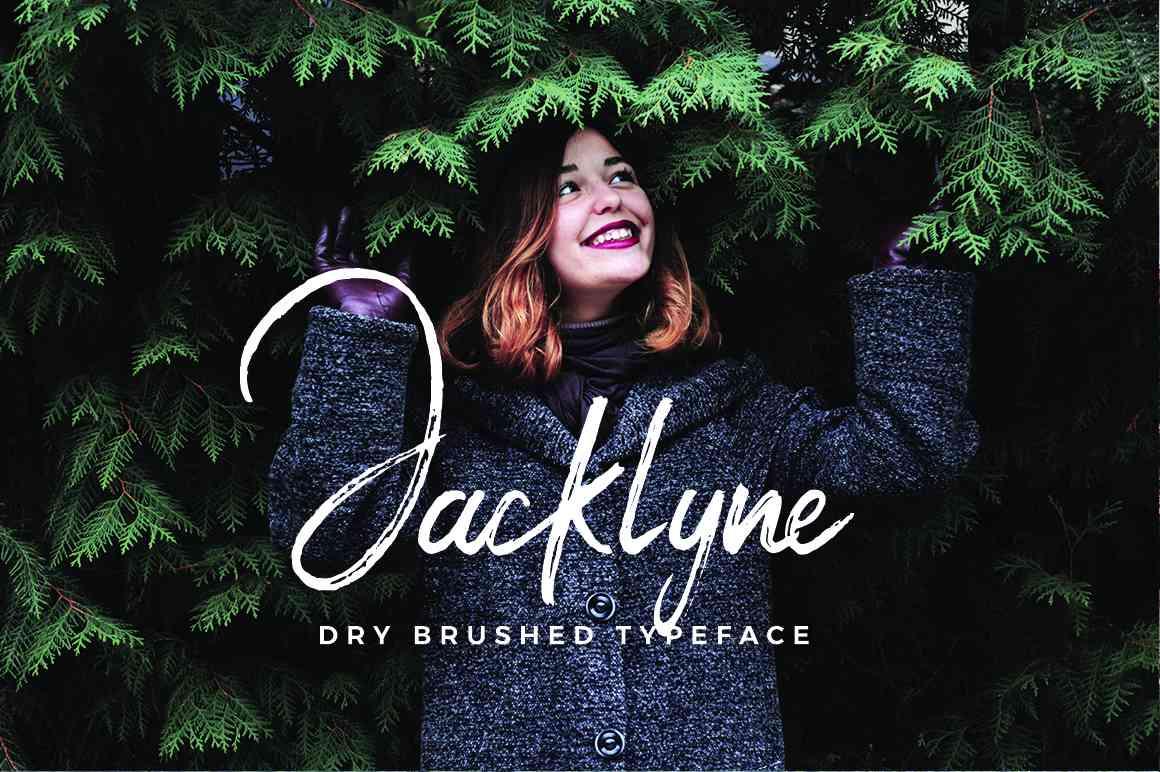 jacklyne-brush-font