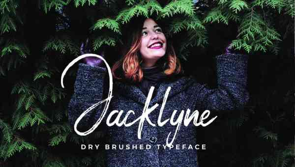 Jacklyne Brush Font Free Download