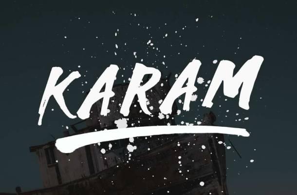 Karam Brush Font Free